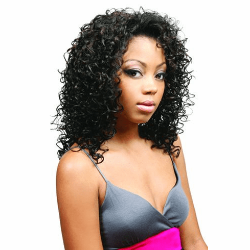 Motown Tress Synthetic Wig  Curly (FX-COOL)