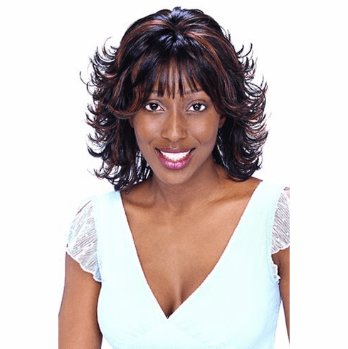Motown Tress Synthetic Wig  Curly (INDIA)