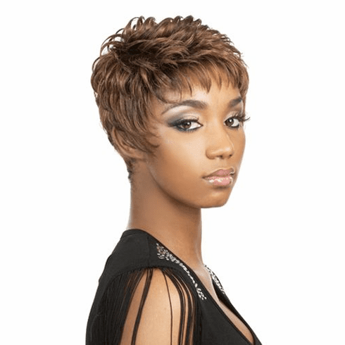 Motown Tress Synthetic Wig  Curly (SILVER)