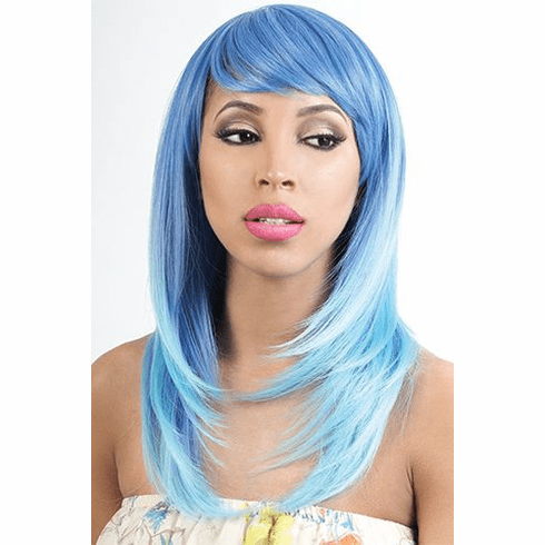 Motown Tress Synthetic Wig Straight  ( Pastel Kay)