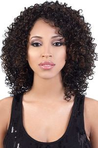 Motown Tress Synthetic Wigs Curly