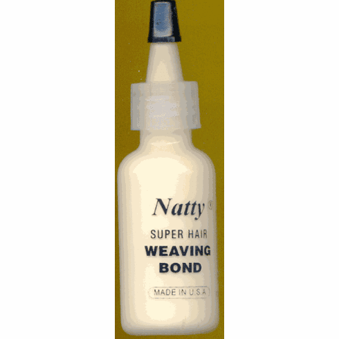 Natty Super Hair Weaving Bond  1/2oz (White)