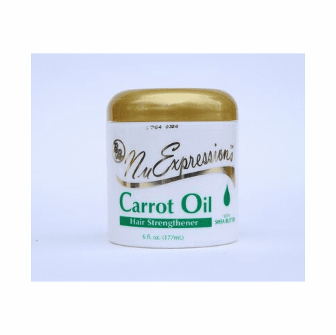Nu Expressions  Carrot Oil Hair Strengthener 6 fl.oz
