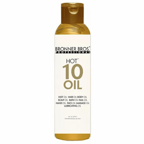 Bronner Bros Professional Hot 10 Oil 8 fl. oz