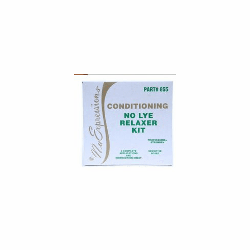Nu Expressions  No Lye Sensitive Scalp Relaxer Kit ( 4 -Applications)