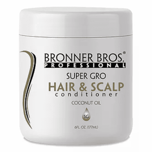Bronner Bros Professional Super G.R.O. Hair & Scalp Conditioner 6 fl.oz