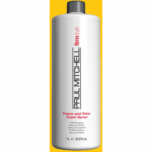 Paul Mitchell Freeze and Shine Super Spray - Firm Style 33.8 fl.oz