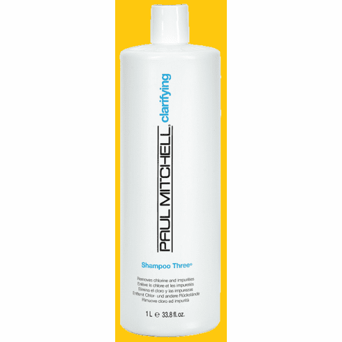 Paul Mitchell Shampoo Three- Clarifying  33.8 fl.oz
