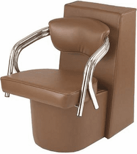 Pibbs 4669 Dryer Chair With Black Steel Base Fits Any Standard Hair Dryer