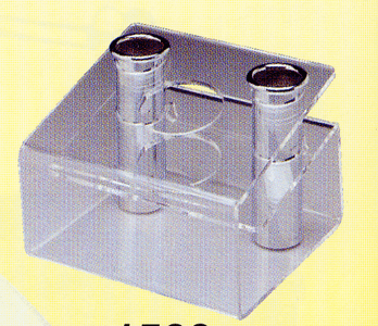 Pibbs: Lucite Holder - Clear  #1500