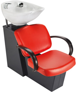 Pibbs Messina 5236W Backwash With Durable Plastic Chair & Tilting Bowl