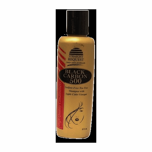 Straight Request Black Carbon 500 Sulfate Free Shampoo 8 fl.oz