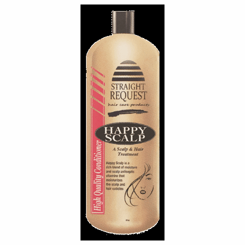 Straight Request Happy Scalp-Scalp and Hair Treatment 16 fl.oz