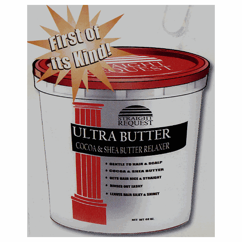 Straight Request Ultra Butter Cocoa & Shea Butter Relaxer 4lb---(New Product)