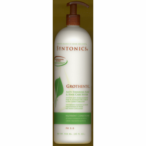 Syntonics: Grothentic Anti-Thinning Nutrient Conditioner 32oz