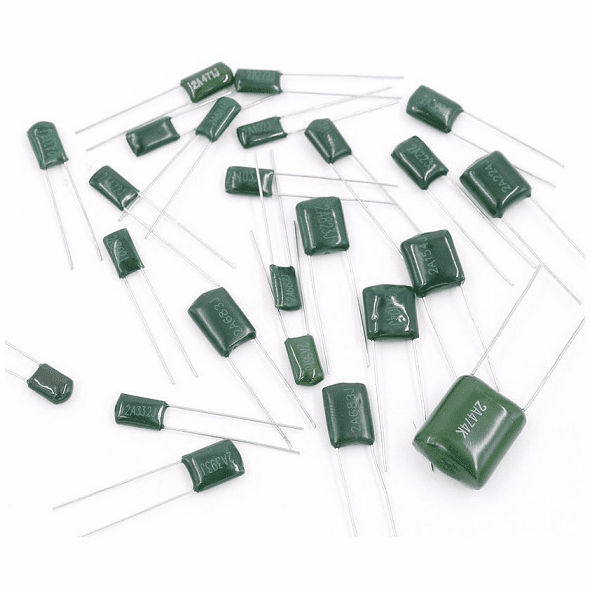 0.68nf Mylar Polyester Film Capacitor, 100V, Tolerance: ±5%