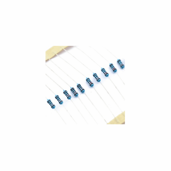 1/8W 1% Metal Film Resistor 1.0 ohm - 10 Pack