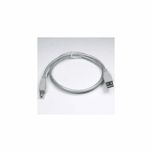 1 Meter USB 2.0 Type A Male to Type B Male - Silver
