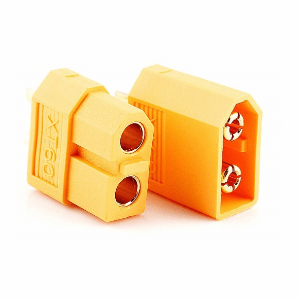 1 Pair, Male and Female XT60 Connectors