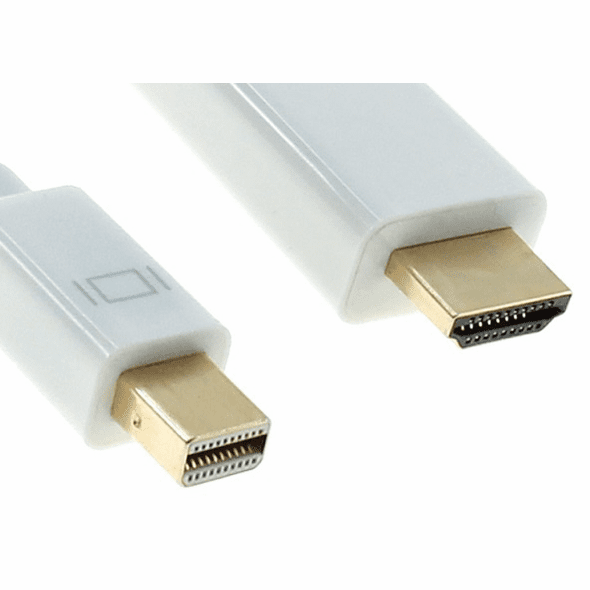 10 Foot Mini DisplayPort to HDMI Cable, with Audio Support