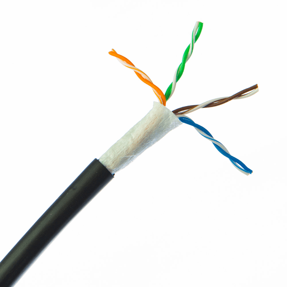 100 Feet Bulk CAT6 Outdoor Direct Burial Cable (Local Pickup Only)