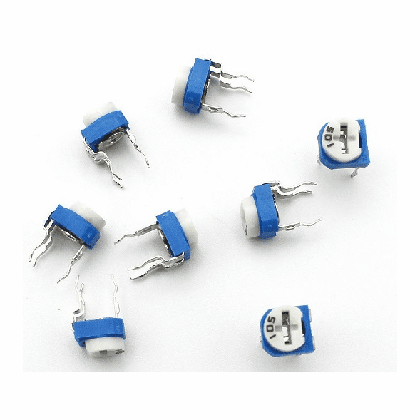 100 ohm (101 ) Variable Trimmer Potentiometer