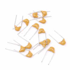 10pF(100)  Monolithic Ceramic Disc Capacitor, 50V, Tolerance: ±10% ~ ±20%