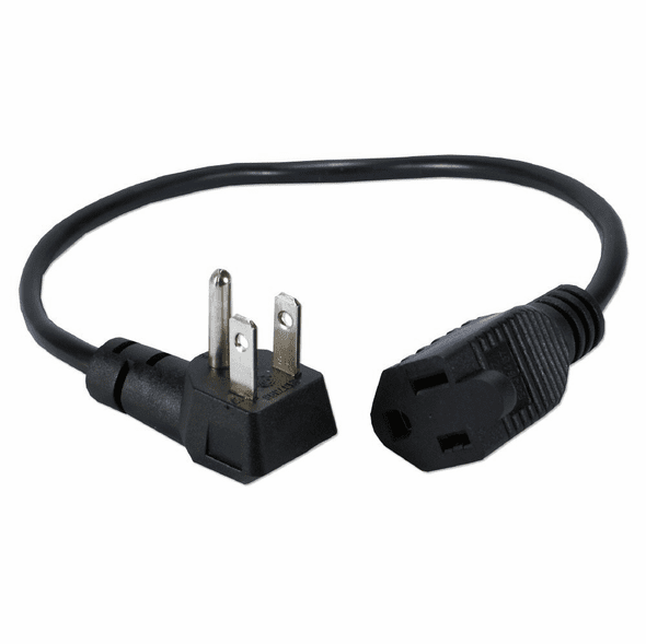 """16"""" Outlet Saver Power Adapter with 90 Flat Plug Computer"""
