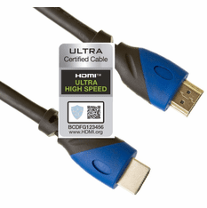 6 Foot Certified Ultra High Speed HDMI Cable, 48 Gbps, 4k/120, 8K60, 10K