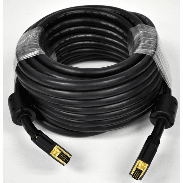 25 Foot DVI-D Digital Dual Link M/M with Ferrites (24 AWG)