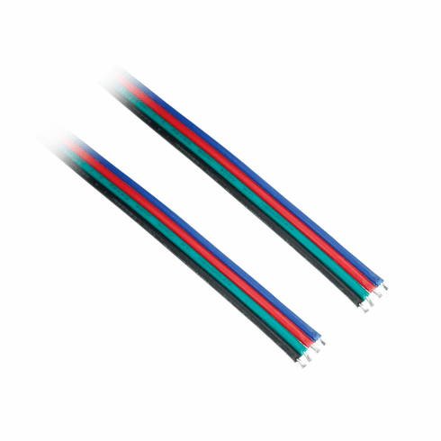4 wire 18awg power cable for rgb led light strips per foot aloadofball Image collections