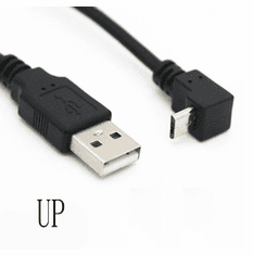 .5 Meter USB 2.0 to Up Angle Micro Cable