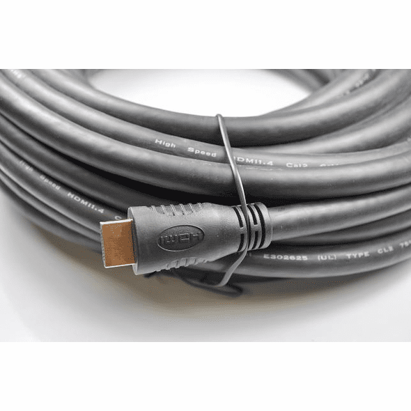 50 Foot High Speed w/Ethernet 24awg In-Wall Rated CL2 HDMI Cable - Black
