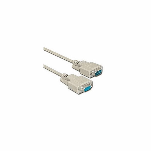 50 Foot Male / Female 9 Pin ( DB9 ) Serial Extension Cable