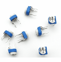 500 ohm (501 ) Variable Trimmer Potentiometer