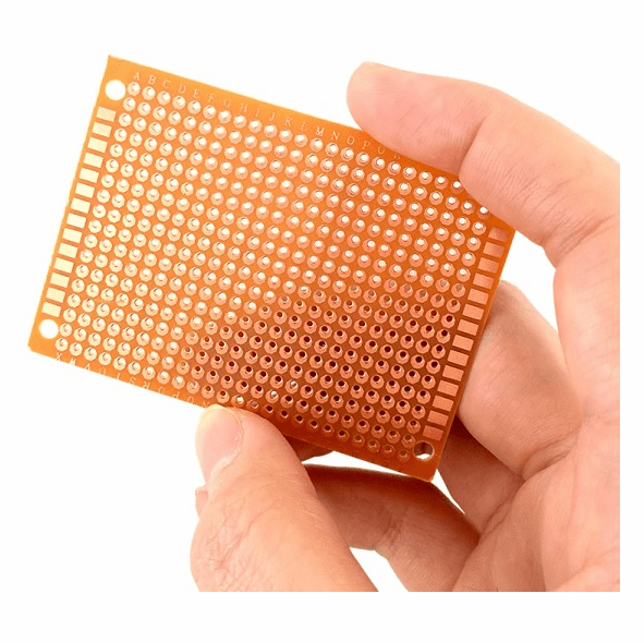 5cm x 7cm Prototype Boards, Basic Pack of 5