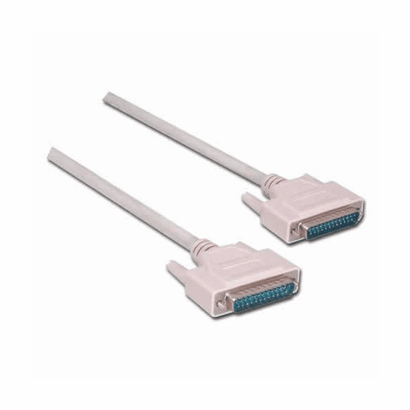 6 Foot DB25 IEEE Male - Male Cable