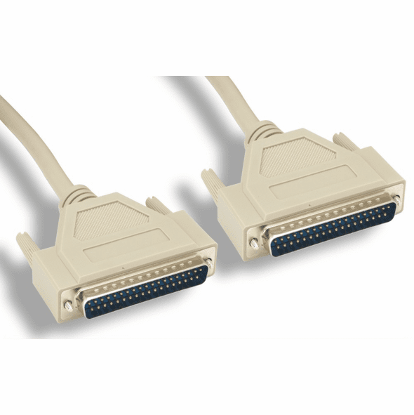 6 Foot DB37 37 Pin Male/Male Serial Cable