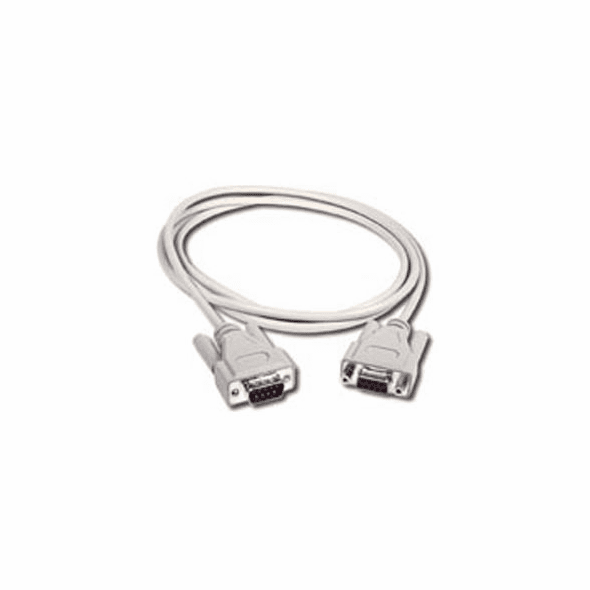 6 Foot DB9 Male - DB9 Female Null Modem Cable
