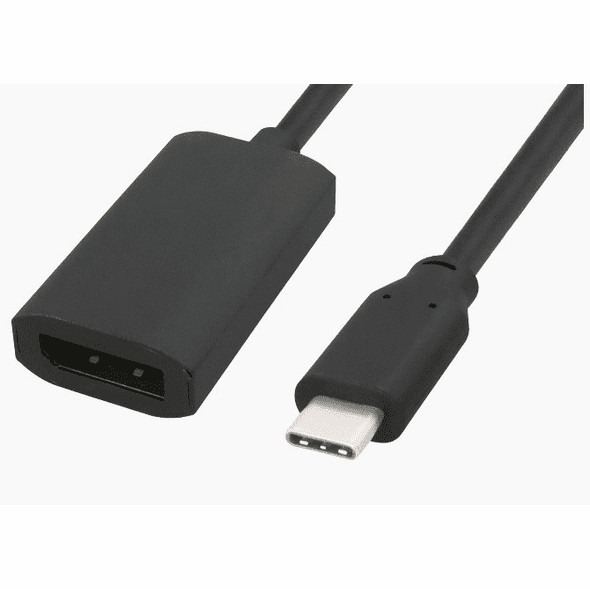 6 inch USB Type C Male to 4K 60Hz DisplayPort Female Adapter