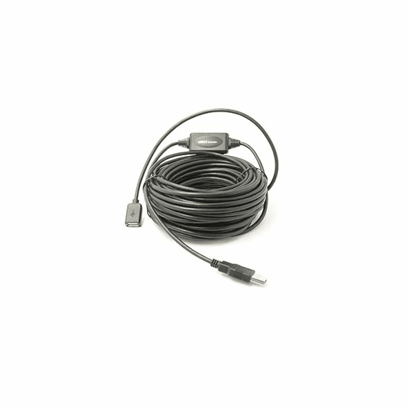65 Foot USB 2.0 Active Extension, Type A Male to Female