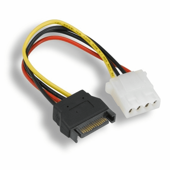 7 Inch Molex Power from SATA Male Power Adapter