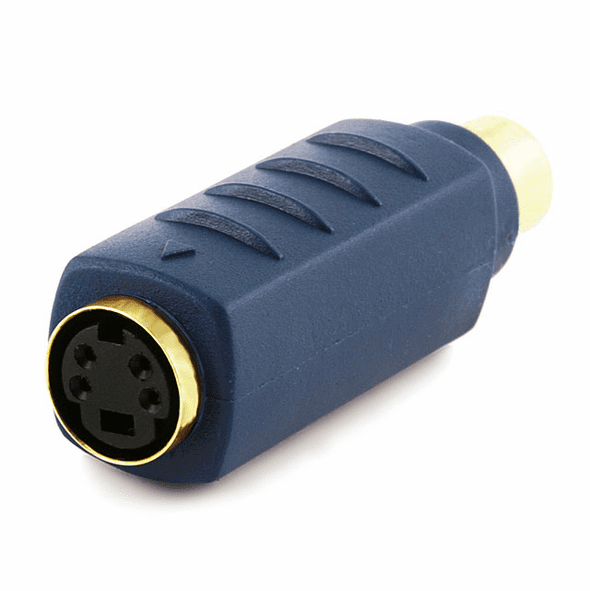 Bi-Directional RCA Female / S-Video Female Gold Plated Video Adapter