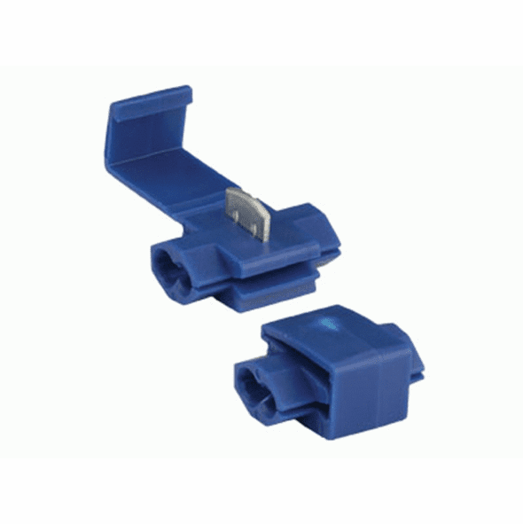 Blue Instant Tap Connector 16-14 Gauge - Package of 10