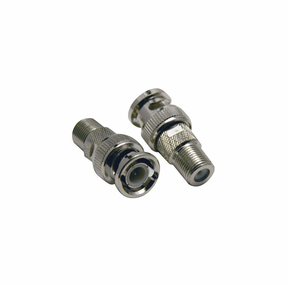 BNC Male To F-Type Female Adapter