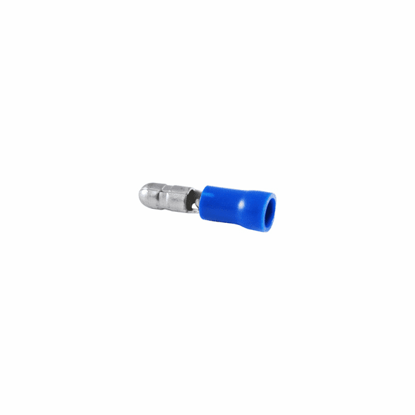 Bullet Disconnect PVC Insulated 16-14AWG Tin Plated Brass- 10 Pack