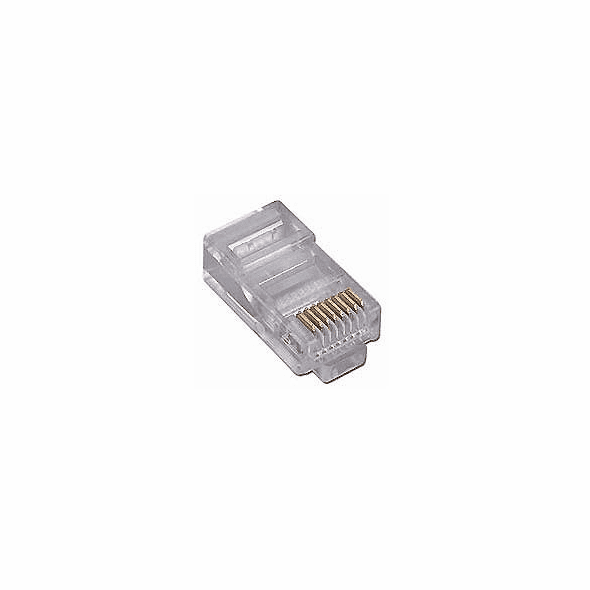 CAT5e Network Ethernet Cable Modular Plug for Stranded wire 50 Pack