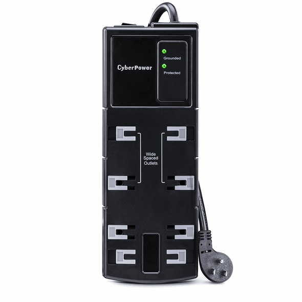 CyberPower CSB808 Essential 8 Outlets Surge Suppressor