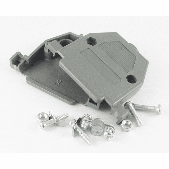 DB25 Plastic Hood, Screw Type
