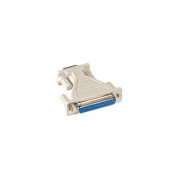 DB9 Male to DB25 Female Adapter